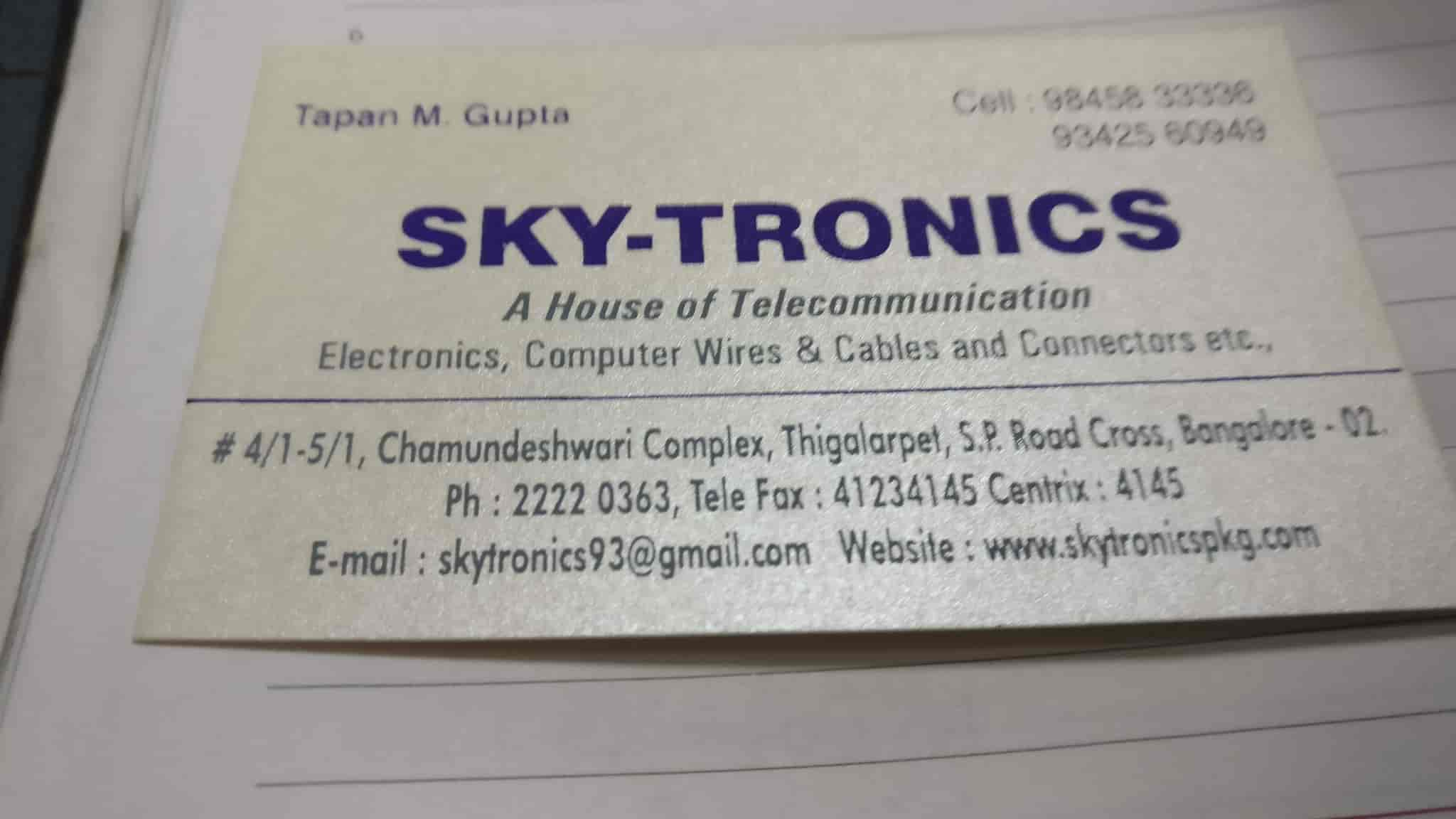 Sky Tronics S P Road Tele munication Cable Dealers in