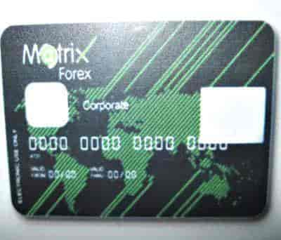 Matrix forex card review