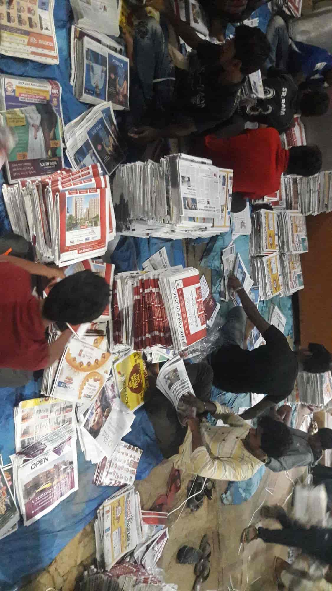 R K All In One News Agency, Krishnarajapuram - Newspaper