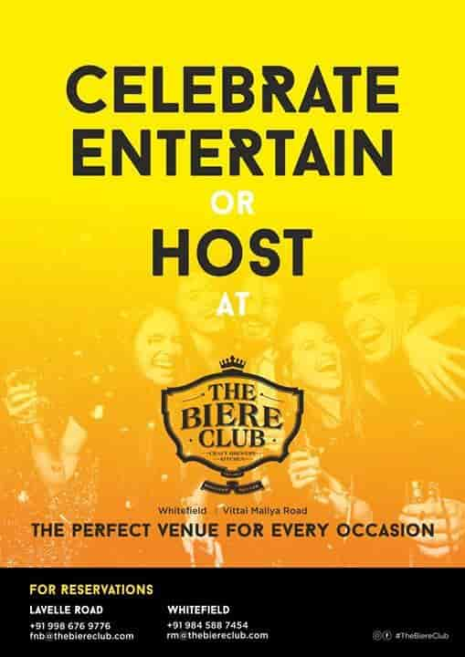The Biere Club, Whitefield, bangalore - Barbeque, Indian