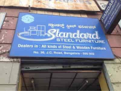 Standard Steel Furniture Jc Road Fabricators In Bangalore Justdial