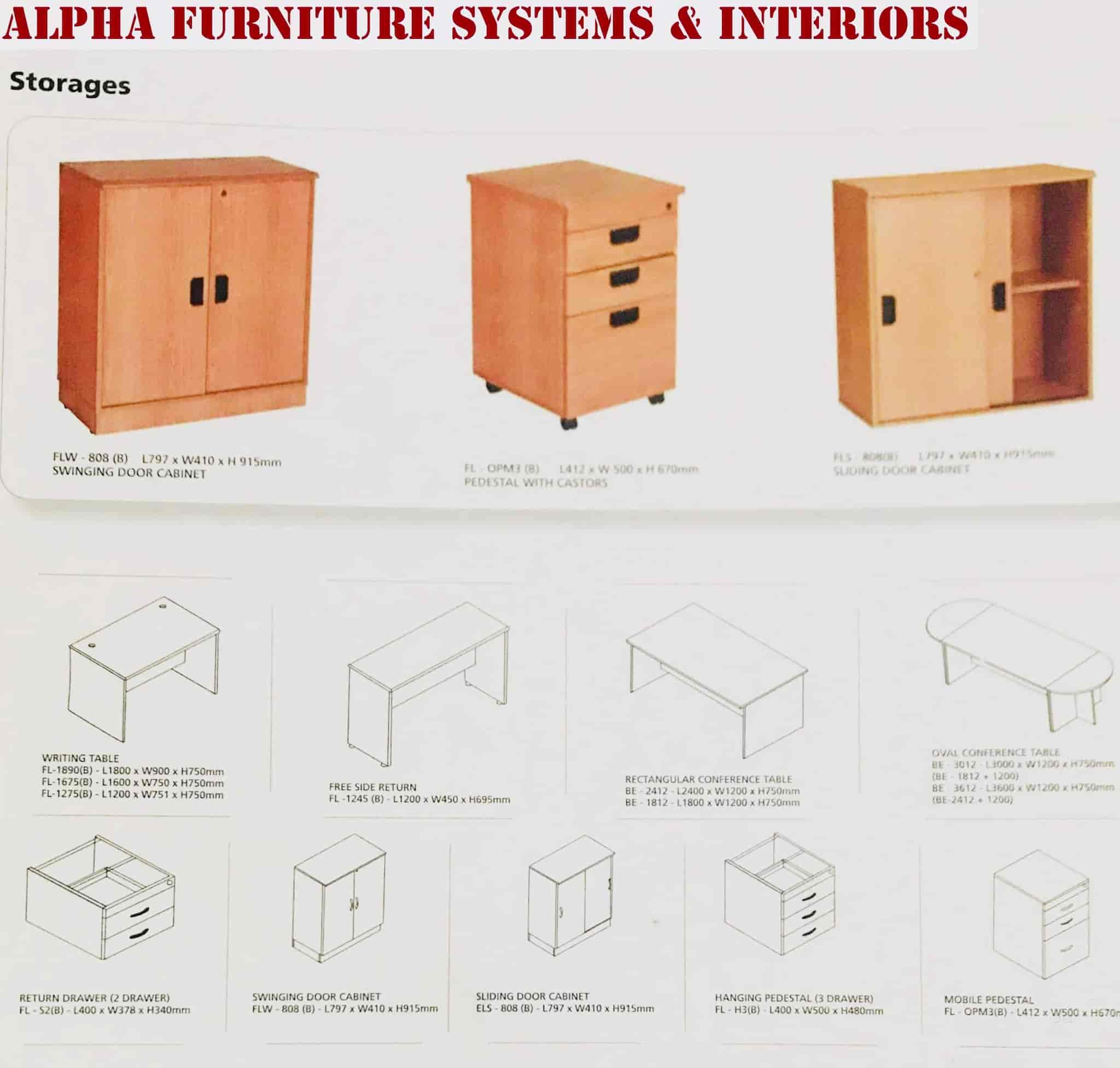 Alpha Furniture Systems And Interiors, Jayanagar 1st Block