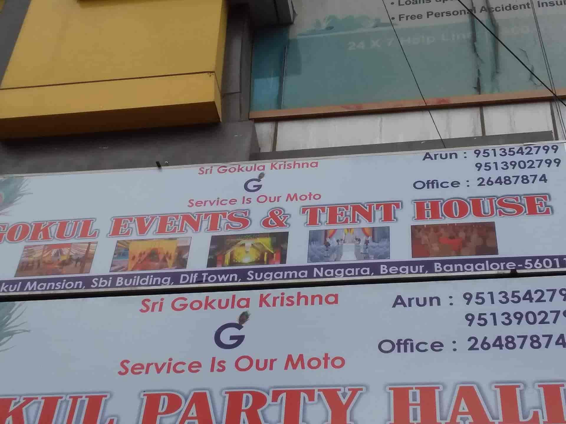 Gokul Events & Tent House, DLF New Town - Tents On Hire in Bangalore