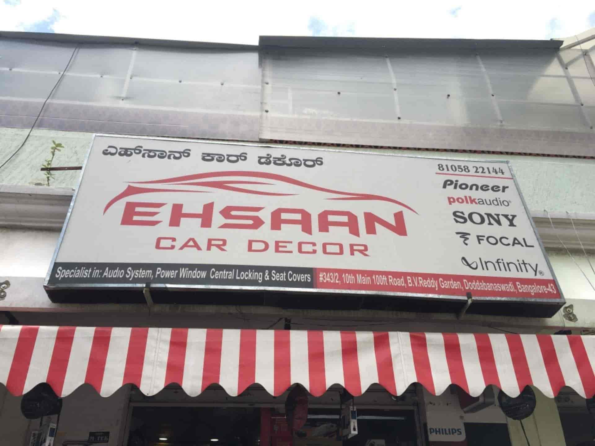 Ehsaan Car Decor, Dodda Banaswadi - Car Accessory Dealers in