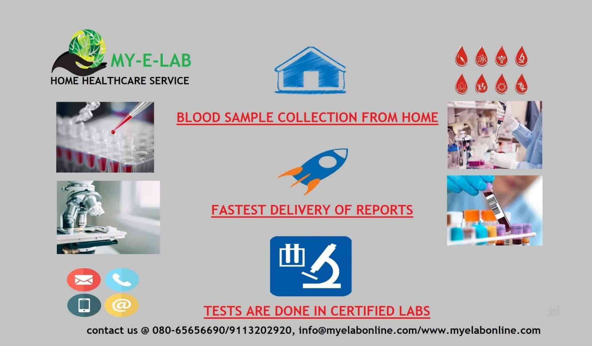 My E Lab Home Health Care Service Photos, Dr Shivaram
