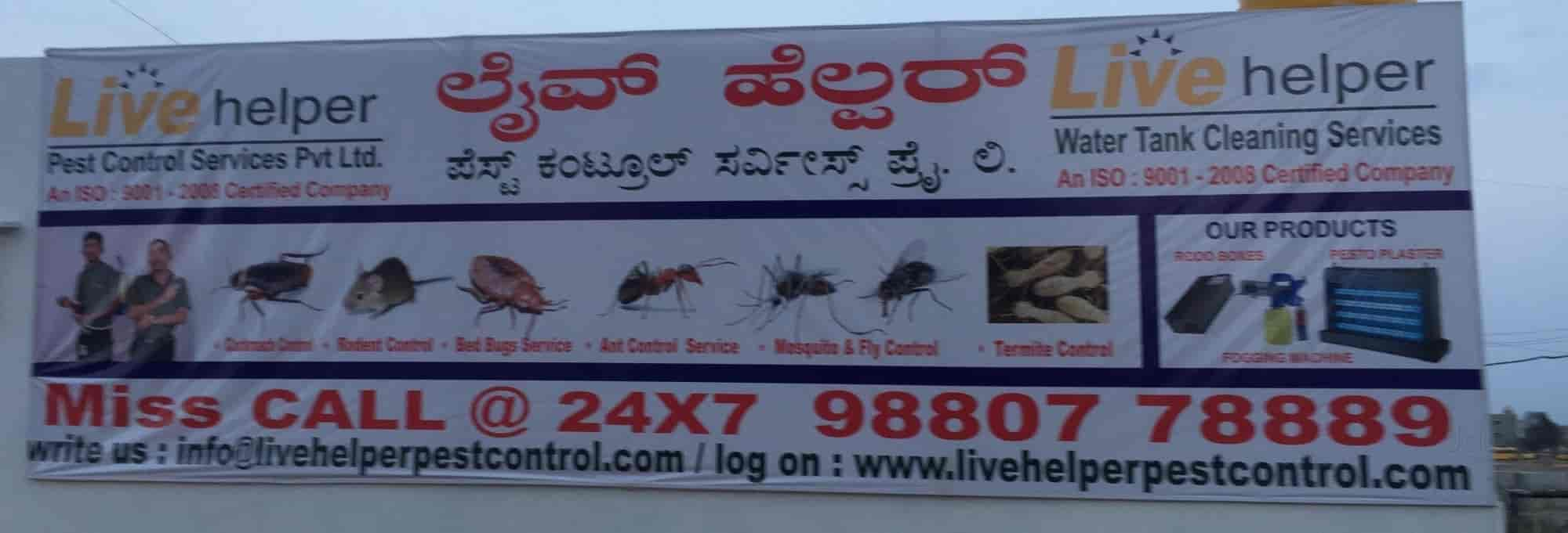 Live Helper Pest Control Services Pvt Ltd, Jayanagar 9th