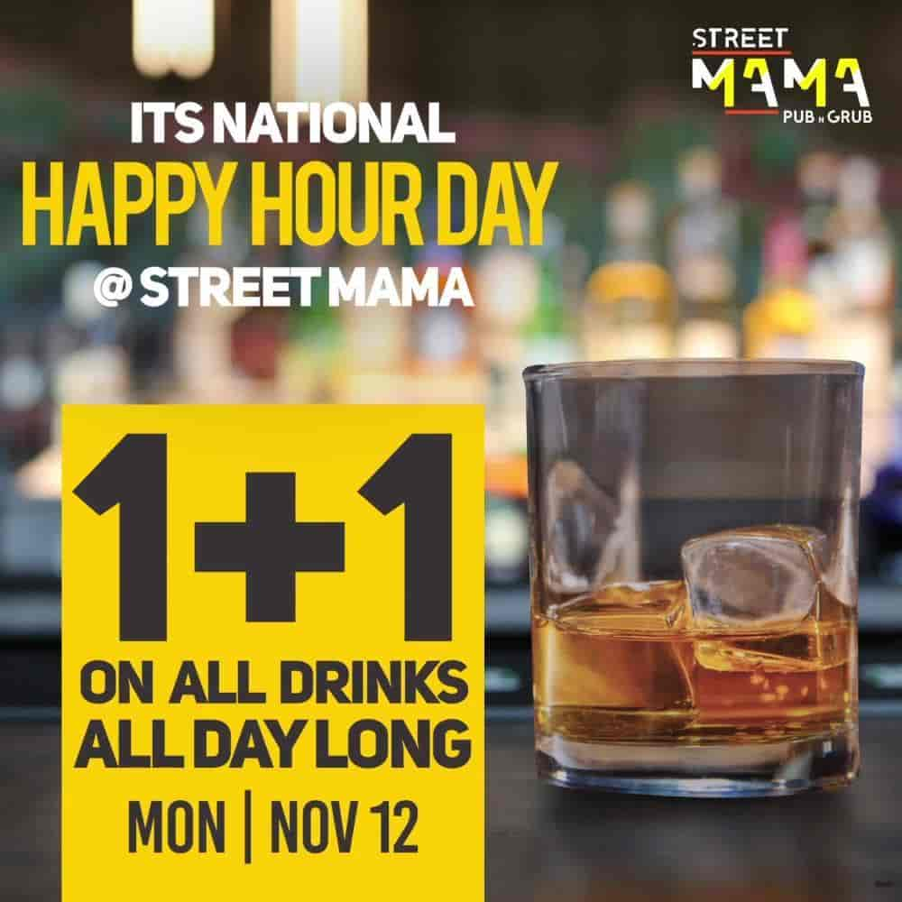 Street Mama, Ashoknagar - 1 Upcoming Event - Longest Happy