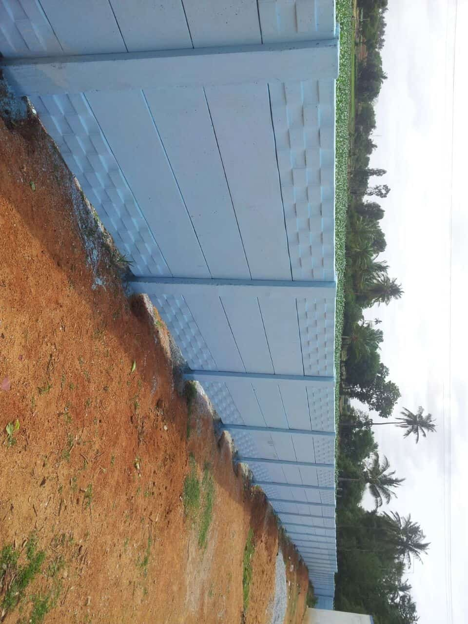 SOUTH Indian Compound WALL AND CRUB Stones Footpath SLABS Photos ...