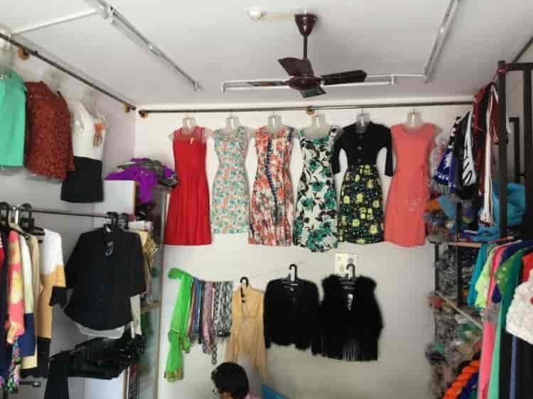 Inside View Of Readymade Garment Shop