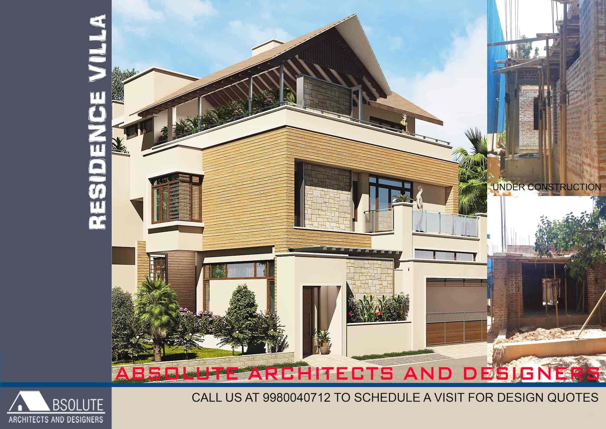 Absolute Architects And Designers, Banaswadi - Architects