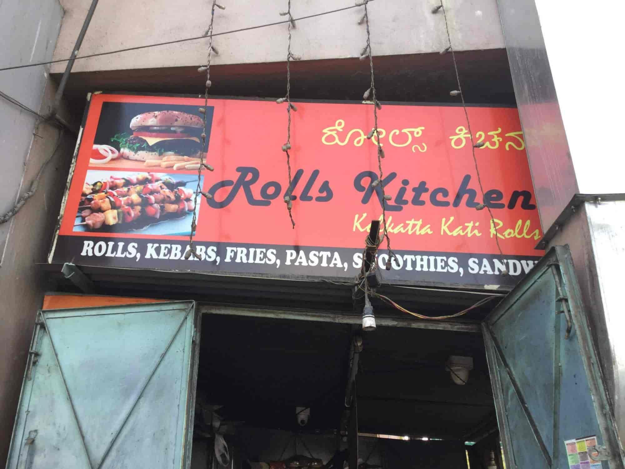 Rolls Kitchen Rajajinagar Bangalore Rolls Fast Food