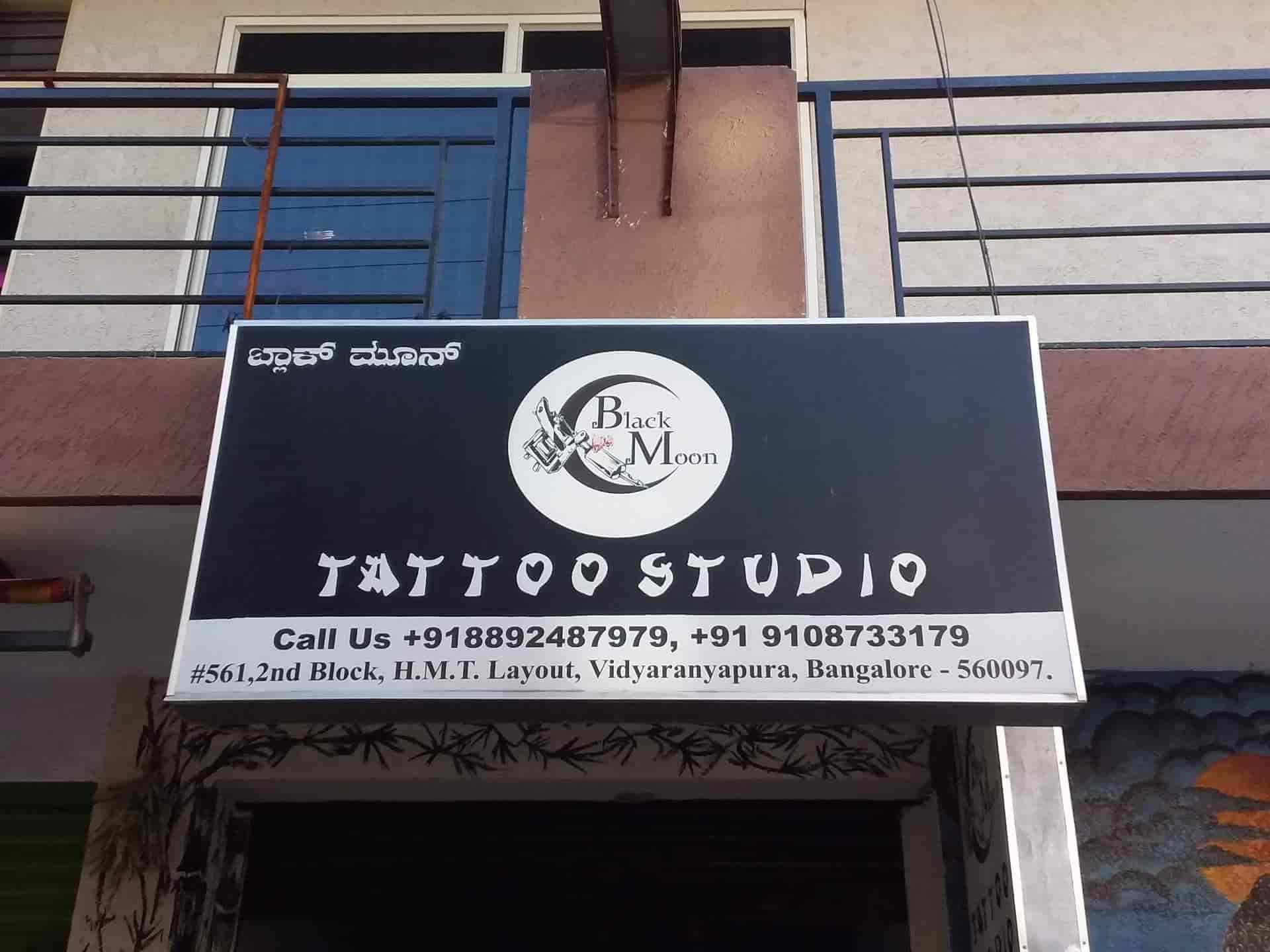 1ebfe1504 Black Moon Tattoo Studios, Vidyaranyapura - Tattoo Artists in Bangalore -  Justdial