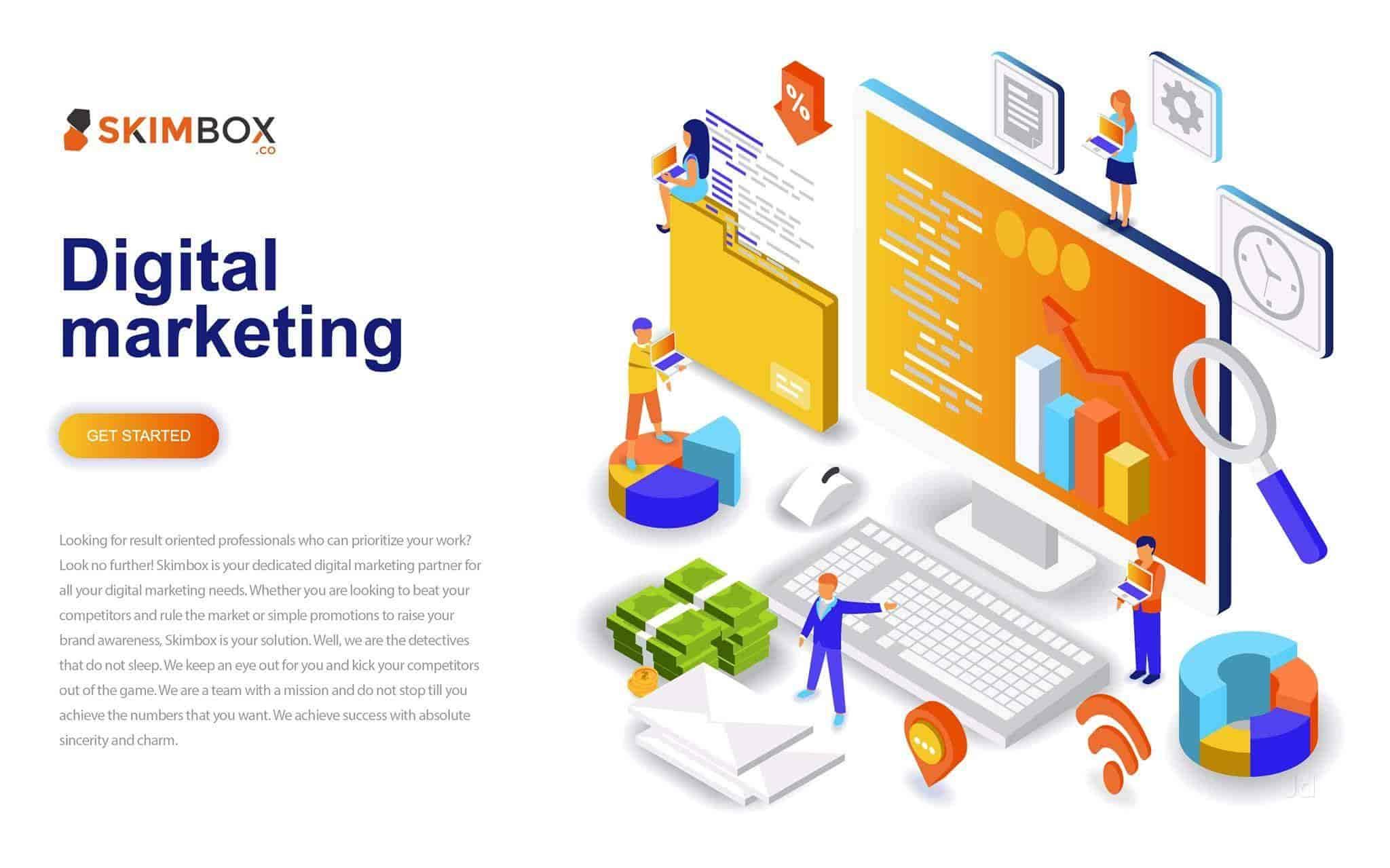 Skimbox Digital Marketing Company, Koramangala - Digital Marketing