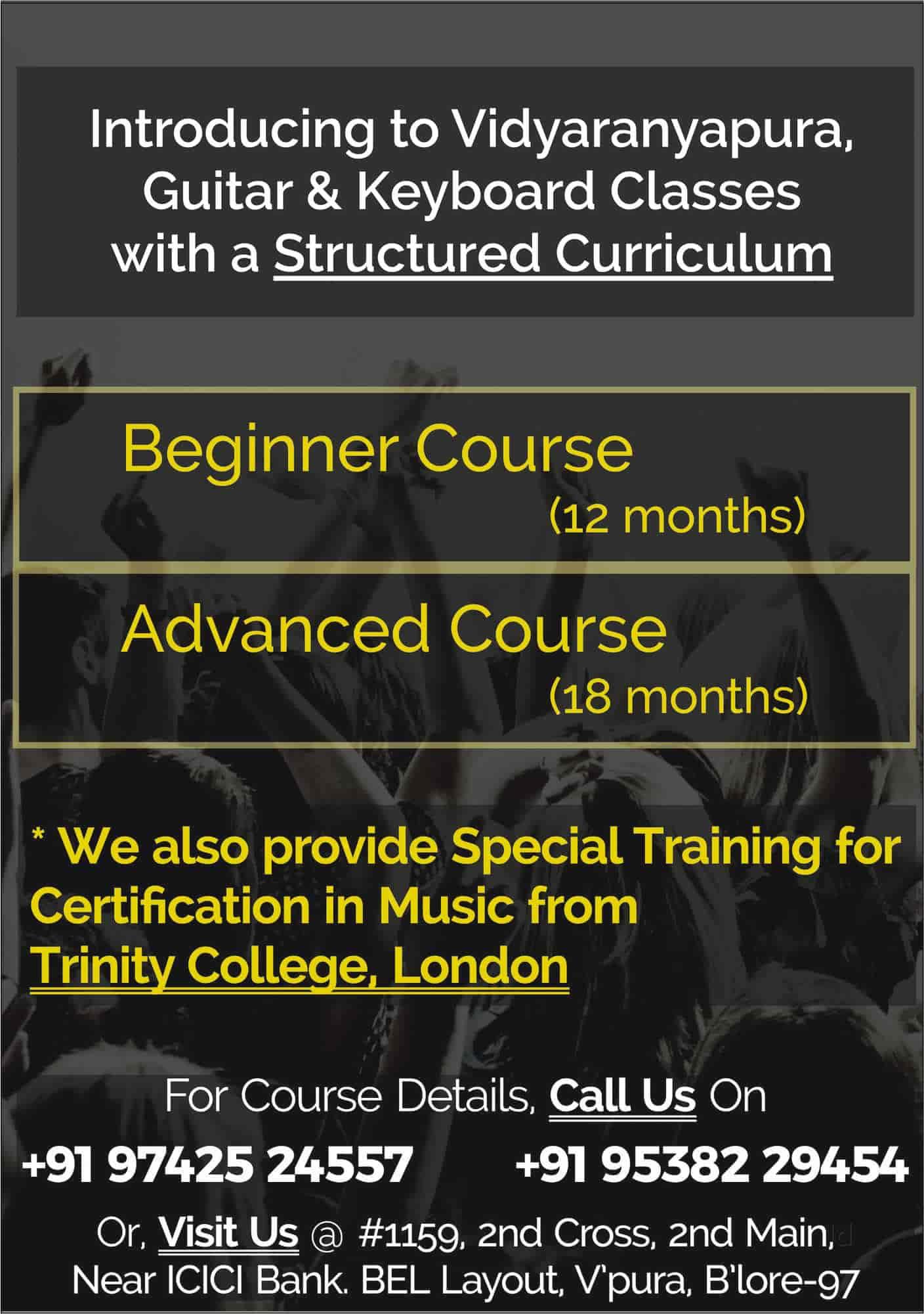 Signature Music School, Vidyaranyapura - Music Classes in Bangalore ...