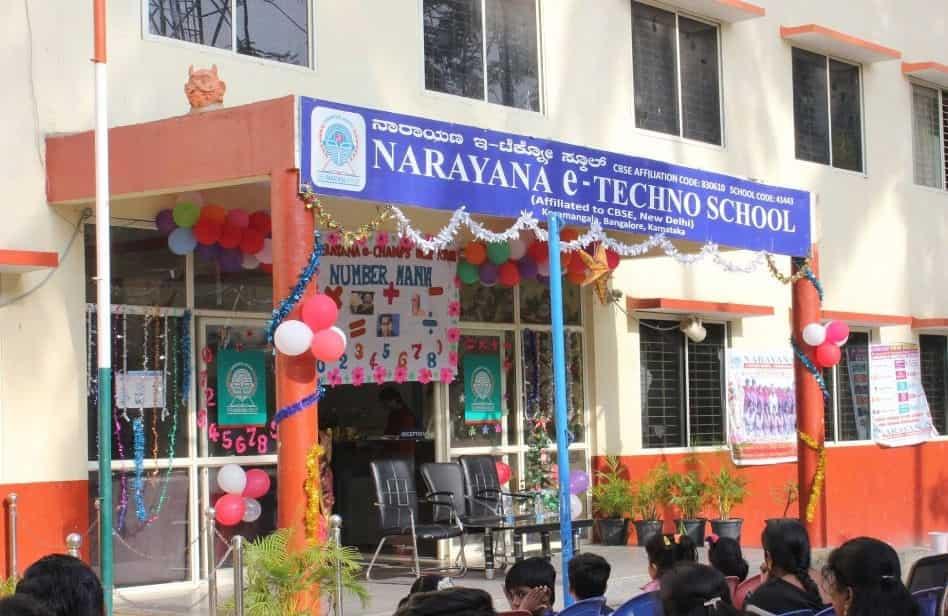 Narayana E Techno School, Koramangala 8th Block - CBSE Schools in