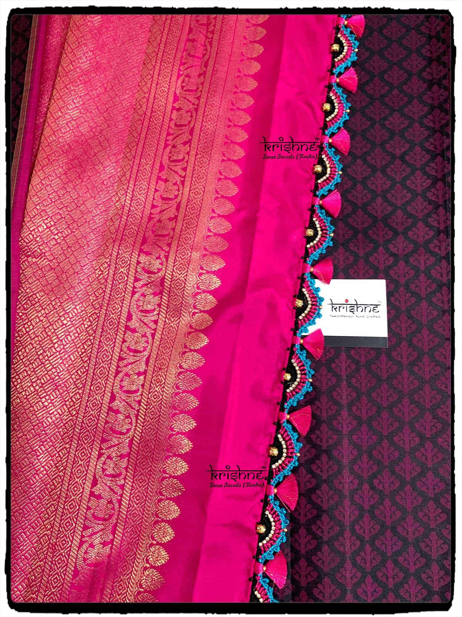 5e66955a45ca34 ... Krishne Saree Kuchu & Saree Tassels Photos, Shanthinagar, bangalore -  Kuchu Work Classes ...