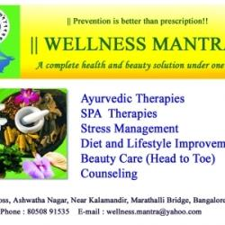 Wellness Mantra - Ayurvedic Body Massage Centres - Book Appointment