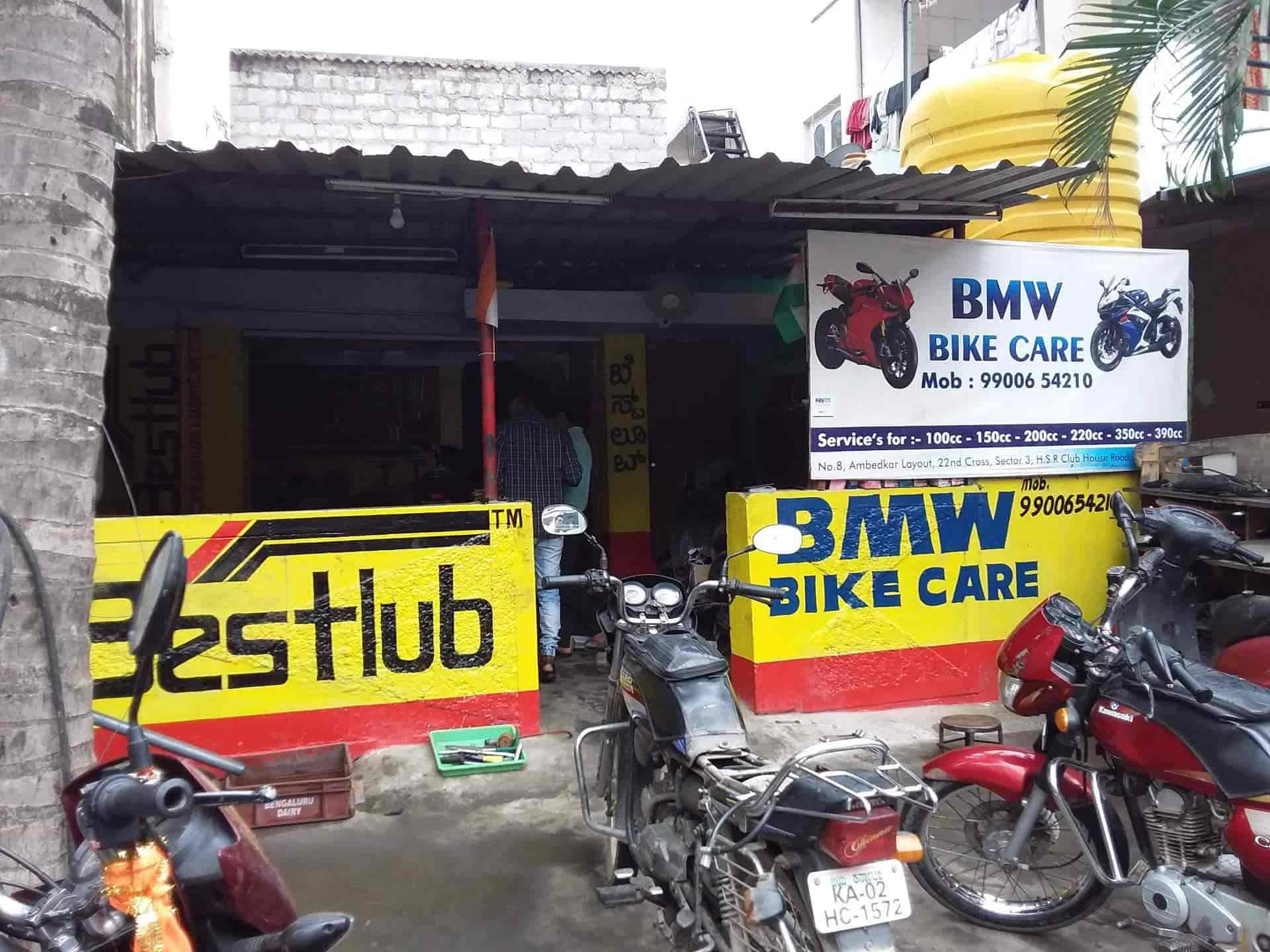 B M W Motor Bike Care Hsr Layout Sector 3 Motorcycle Repair Services In Bangalore Justdial