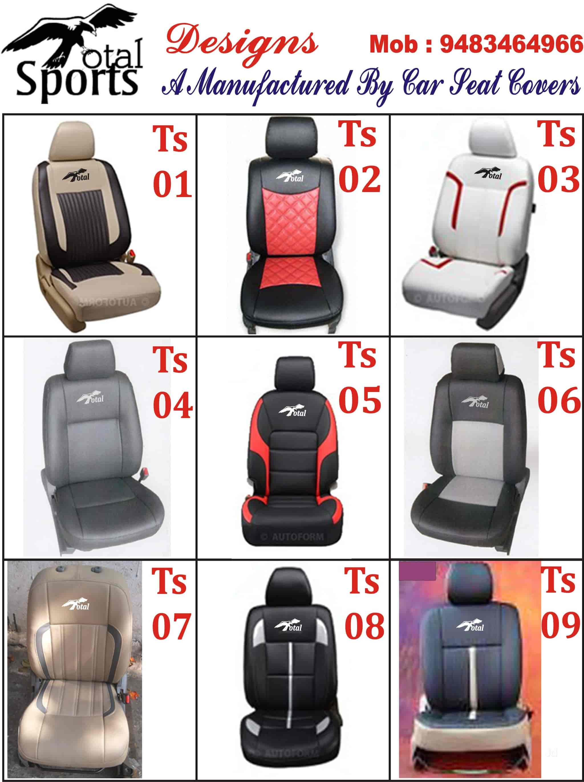 Total Sports Car Seat Covers Photos Hosur Road Bangalore Pictures