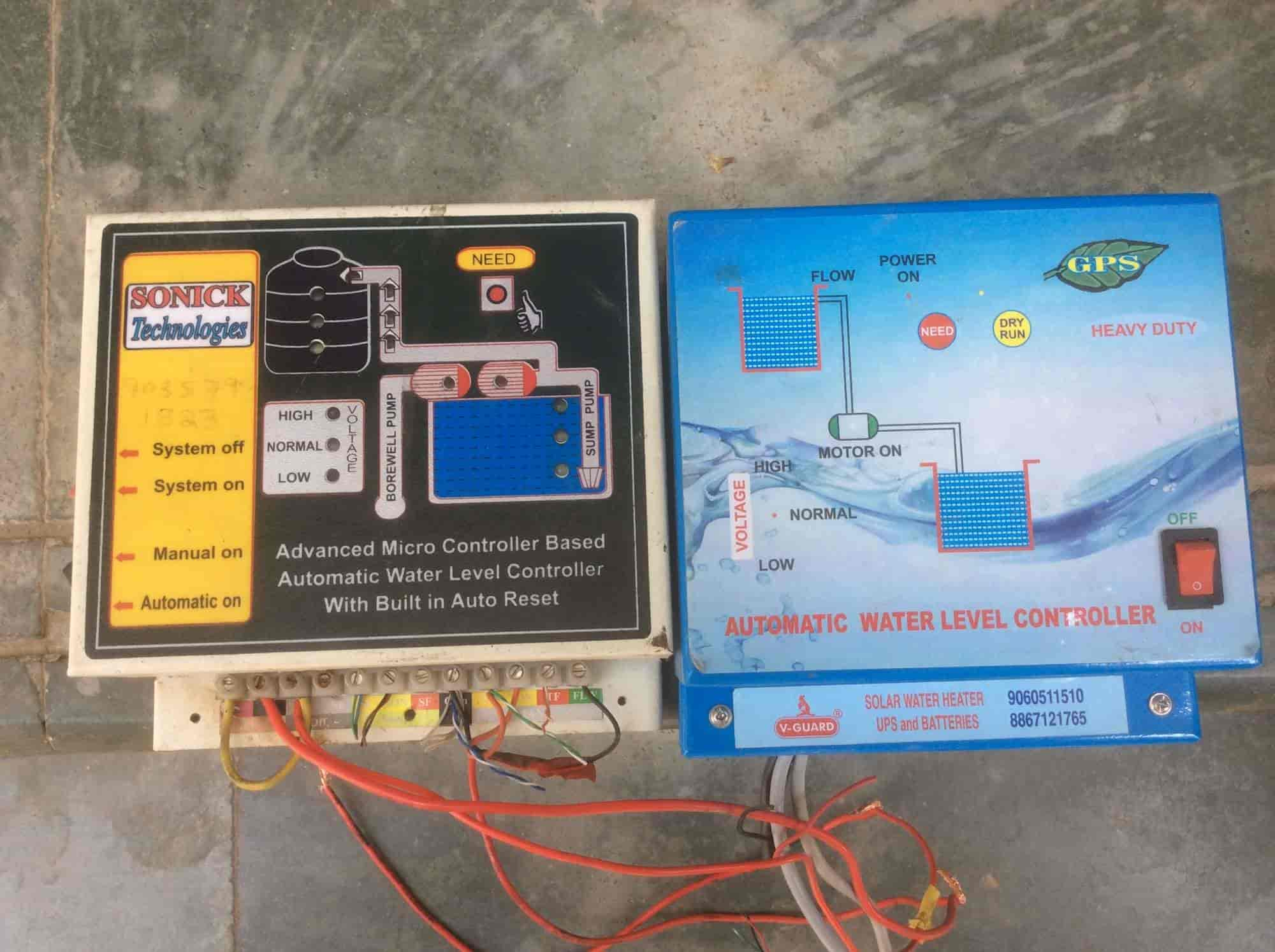 Controlcircuit Automaticcontrol Automaticwaterlevelcontrol