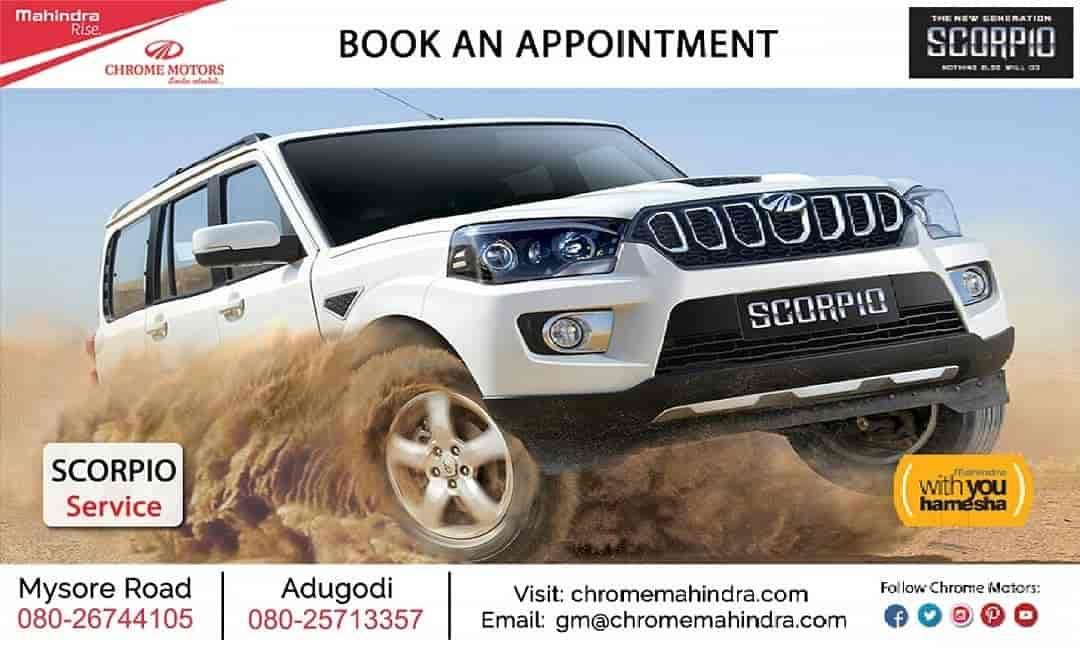 Chrome Motors, Mysore Road - Car Repair & Services-Mahindra in