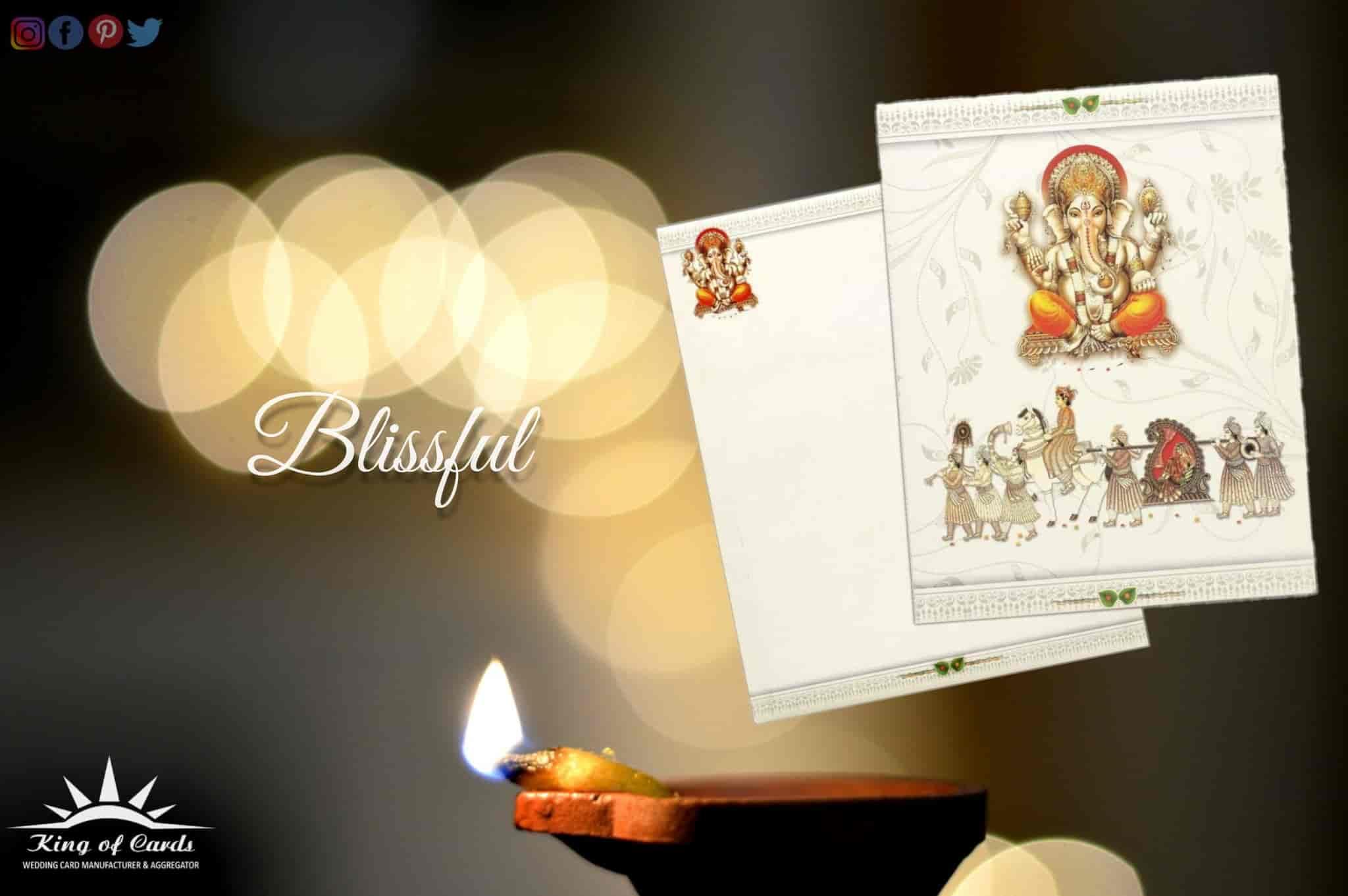 King Of Cards India Pvt Ltd Balepet Chickpet Wedding Card
