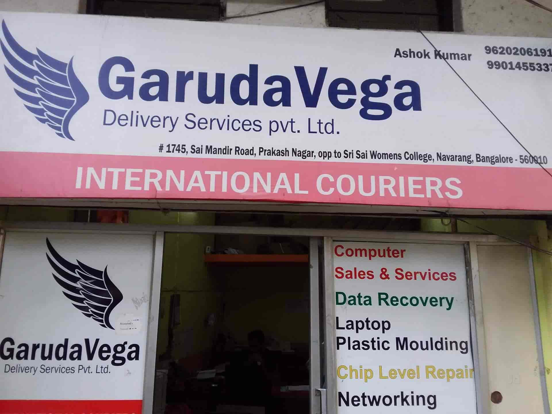 Garudavega, Rajajinagar 2nd Block - Courier Services in