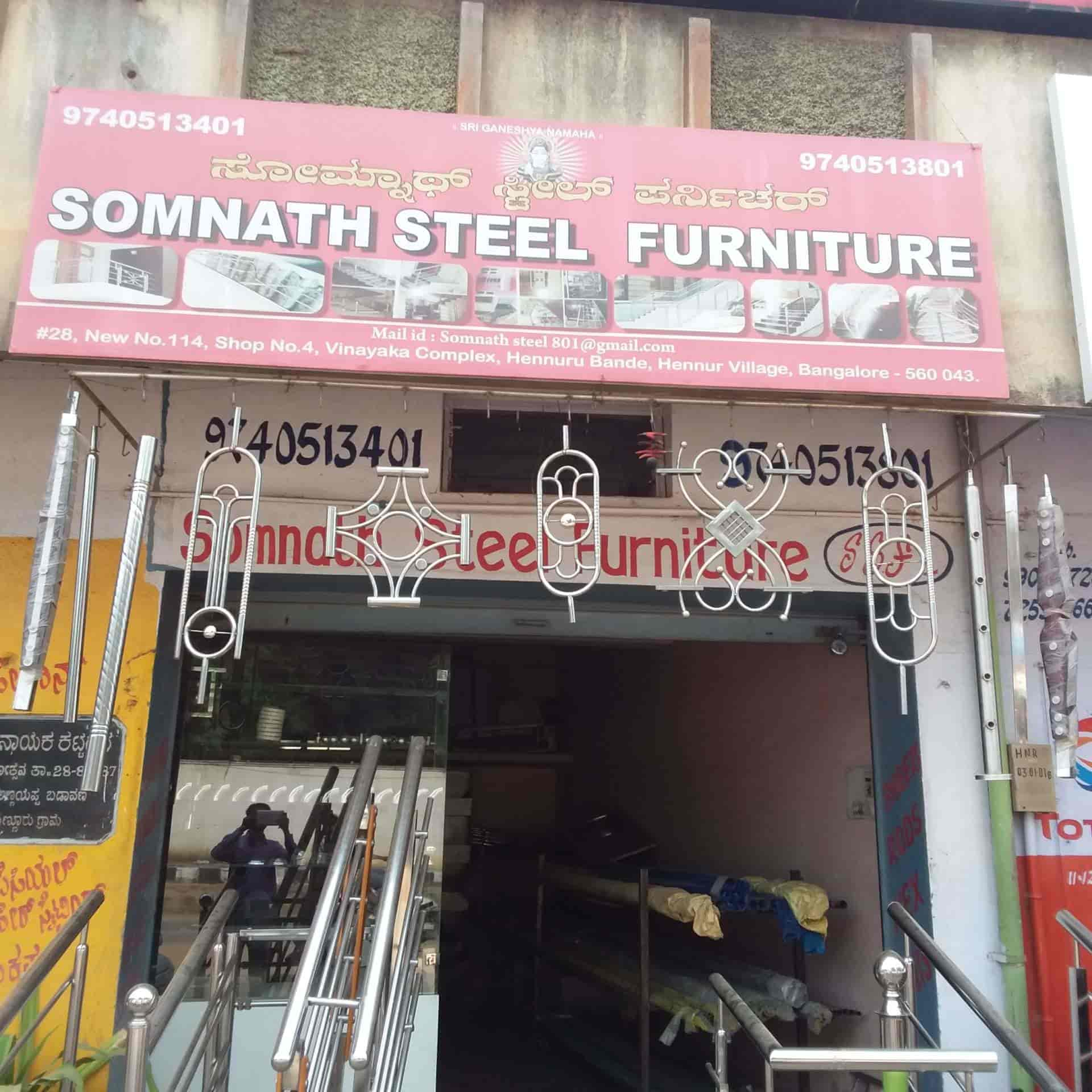Somnath Steel Furniture Hennur Main Road Furniture Dealers In Bangalore Justdial