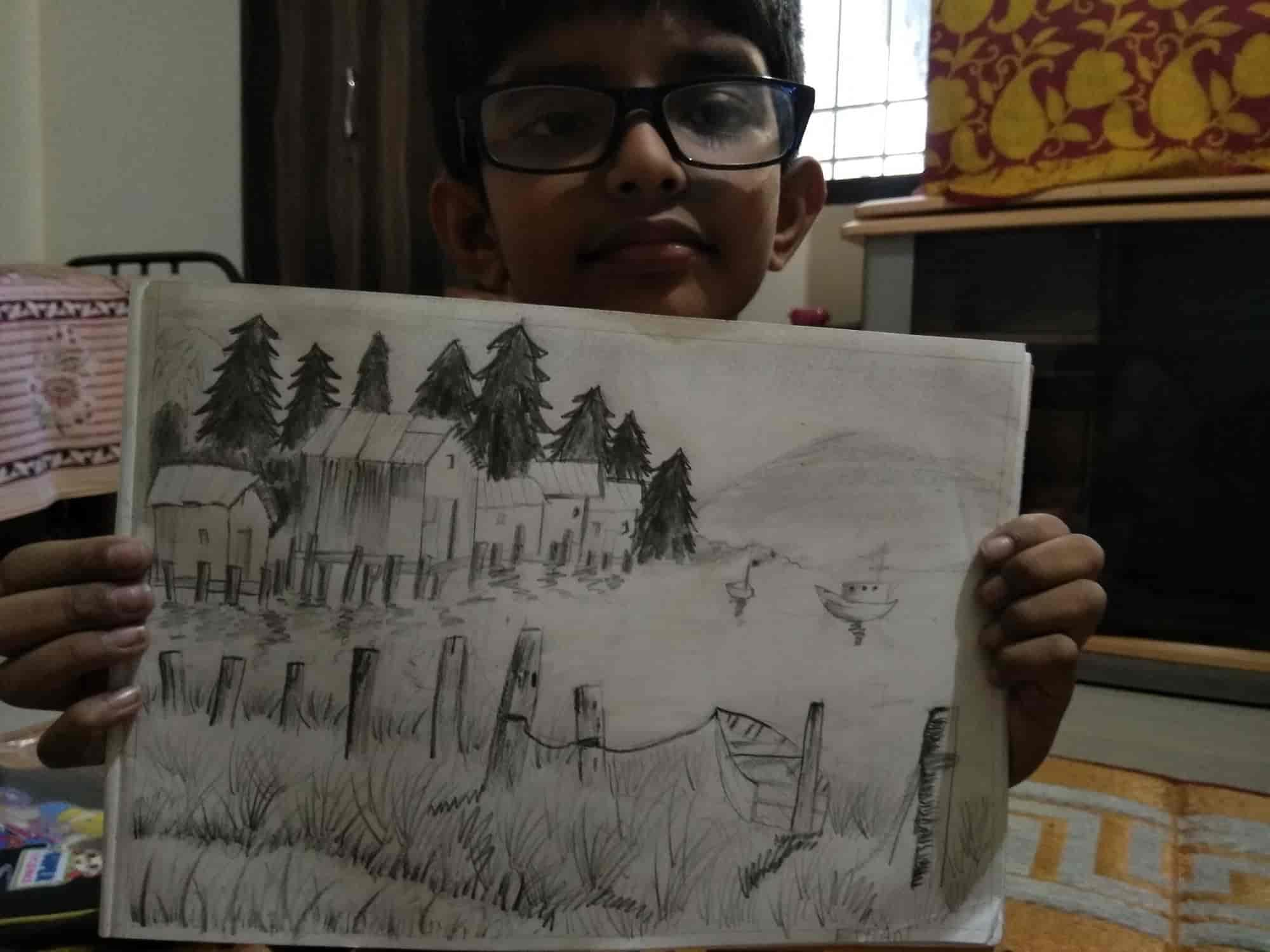 Smart sketch art classes vijayanagar painting classes in bangalore justdial