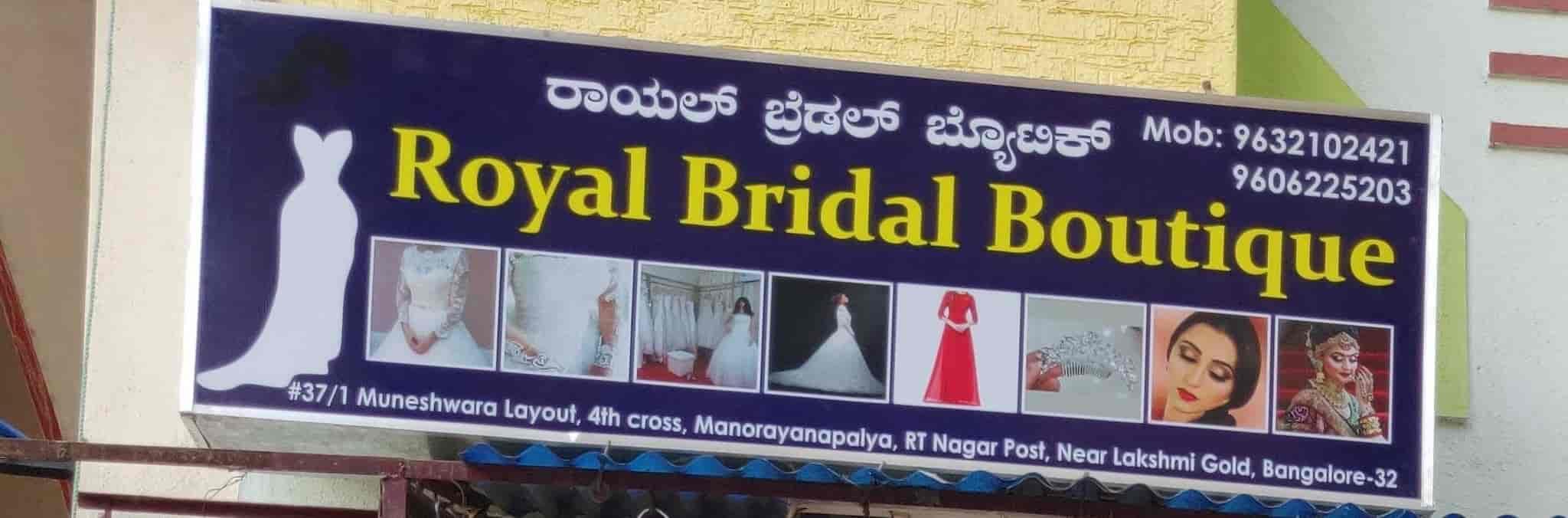 f8da37fabbf16 ... Signboard - Royal Bridal Boutique Photos, Rt Nagar, Bangalore -  Boutiques · Garment Sample ...