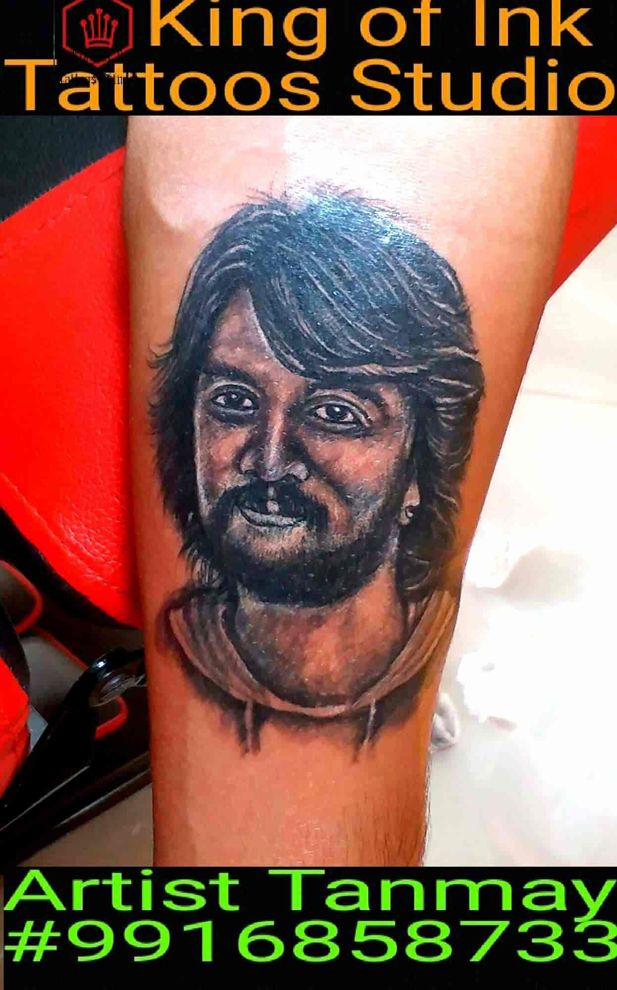 8f83a7350 King Of Ink Tattoos Studio, Chamarajpet - Tattoo Artists in Bangalore -  Justdial