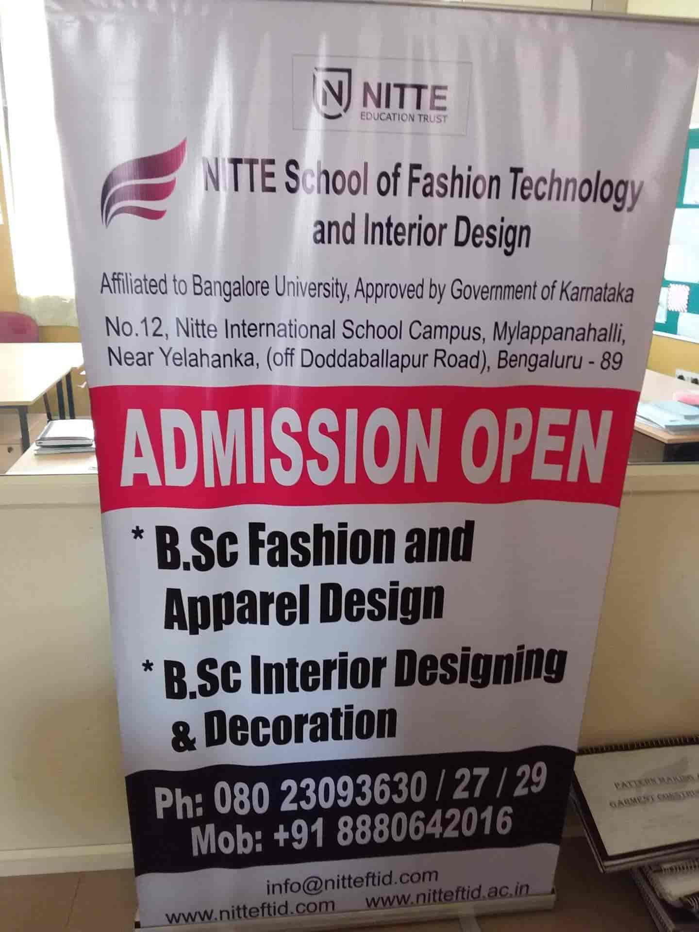 Nitte School Of Fashion Technology And Interior Design Reviews Yelahanka Bangalore 17 Ratings Justdial