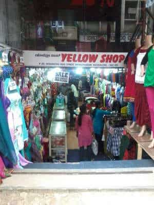 db9e52d541 ... Front View of Garment Collection - Yellow Shop Photos, Shivaji Nagar,  Bangalore - Dress