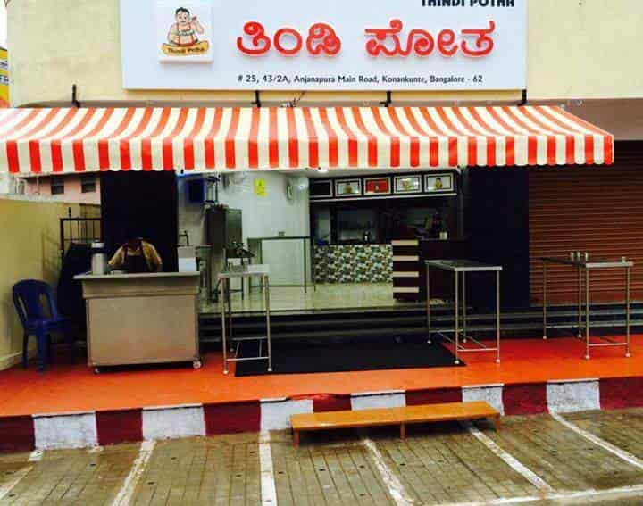Thindi Potha Anjanapura Bangalore South Indian Chinese North