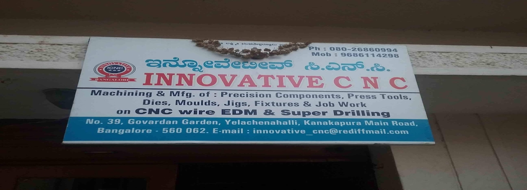 Innovative CNC, Kanakapura Road - Edm Wire Cut Job Works in ...