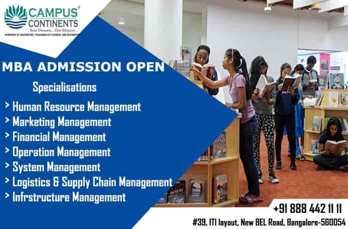 Campuscontinents, New Bel Road - Career Counselling Centres