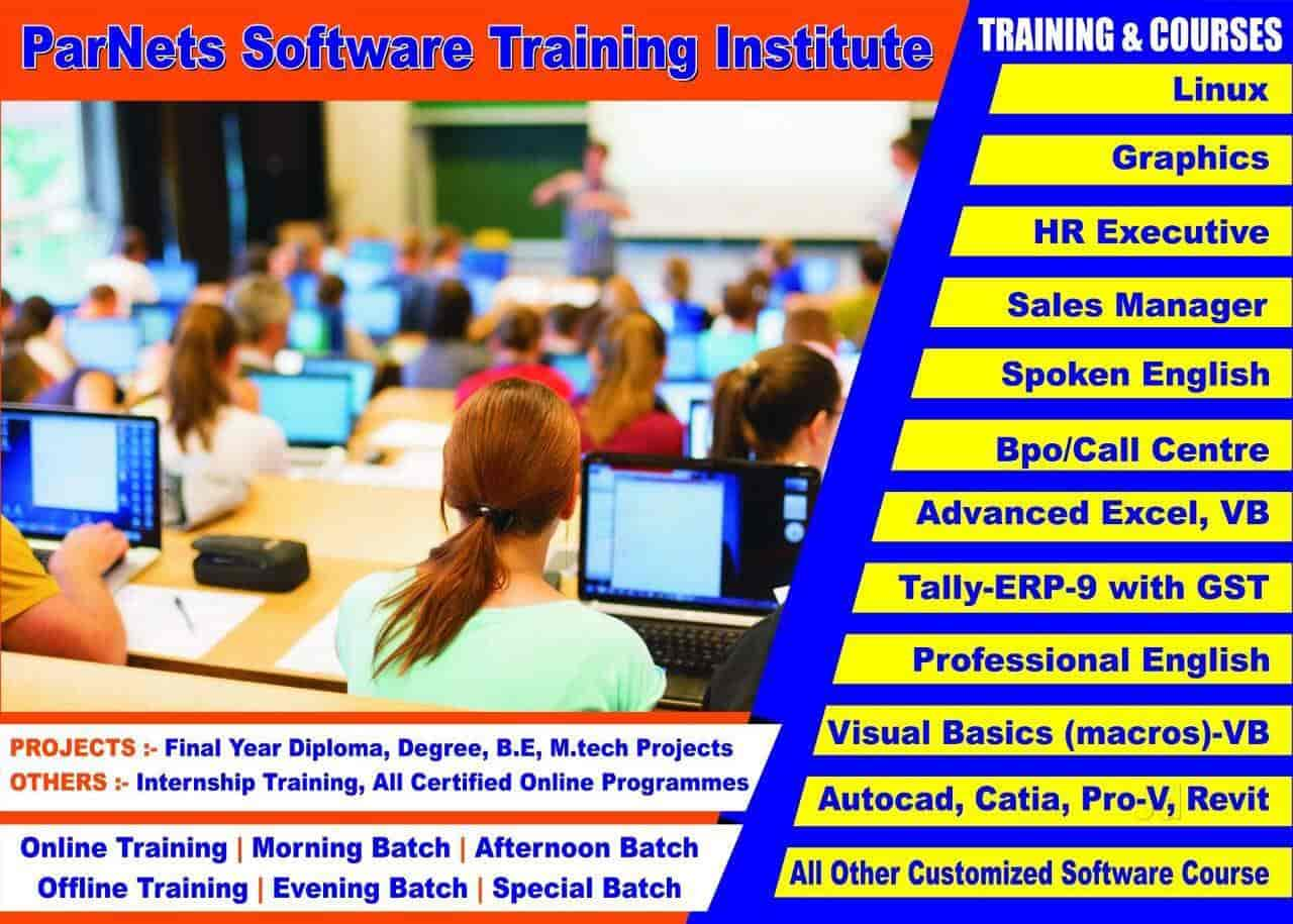 Parnets Software Training Institute Malleswaram Computer Training Institutes In Bangalore Justdial
