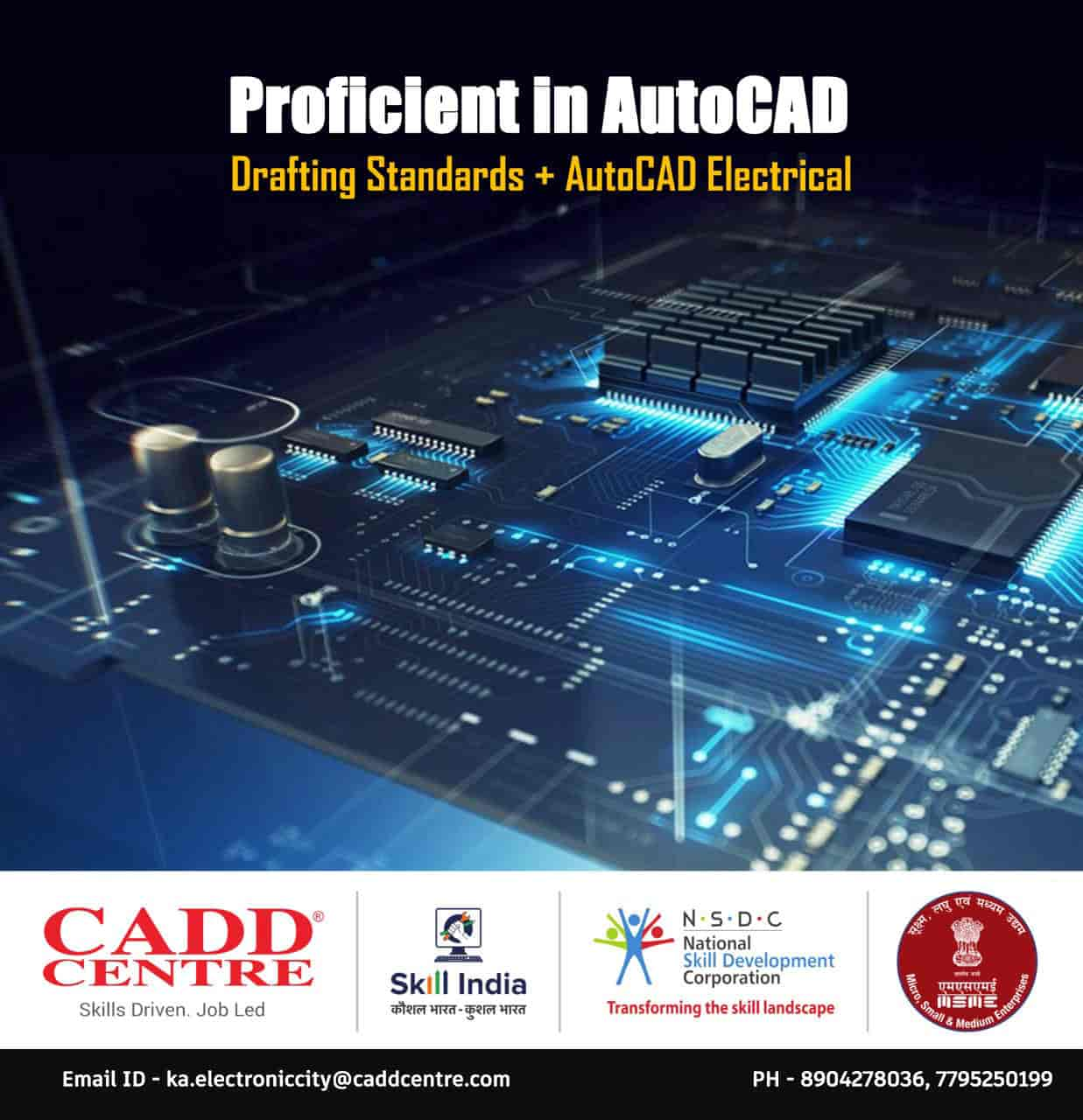 Cadd Centre, Electronic City - CAD Training Institutes in