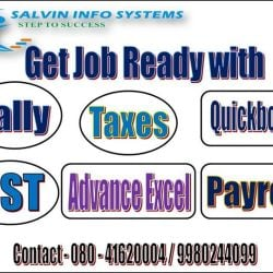 Salvin Info Systems, Koramangala 5th Block - Tutorials in Bangalore