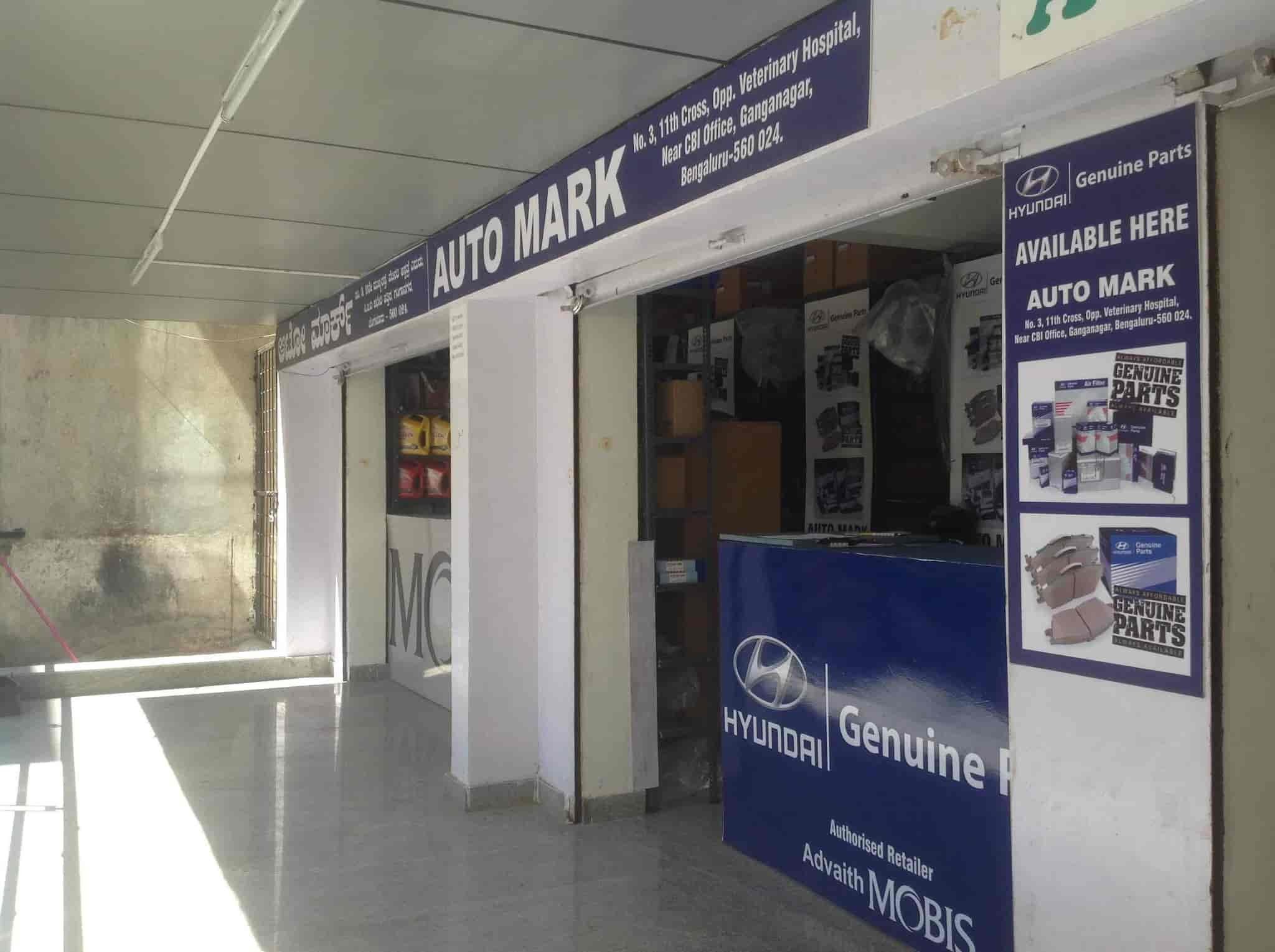 Automark Authorised Retailer For Hyundai Spare Parts, Ganganagar