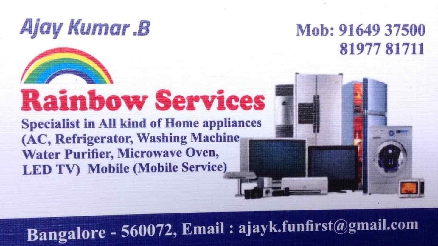 Rainbow Service Vijayanagar Washing Machine Repair