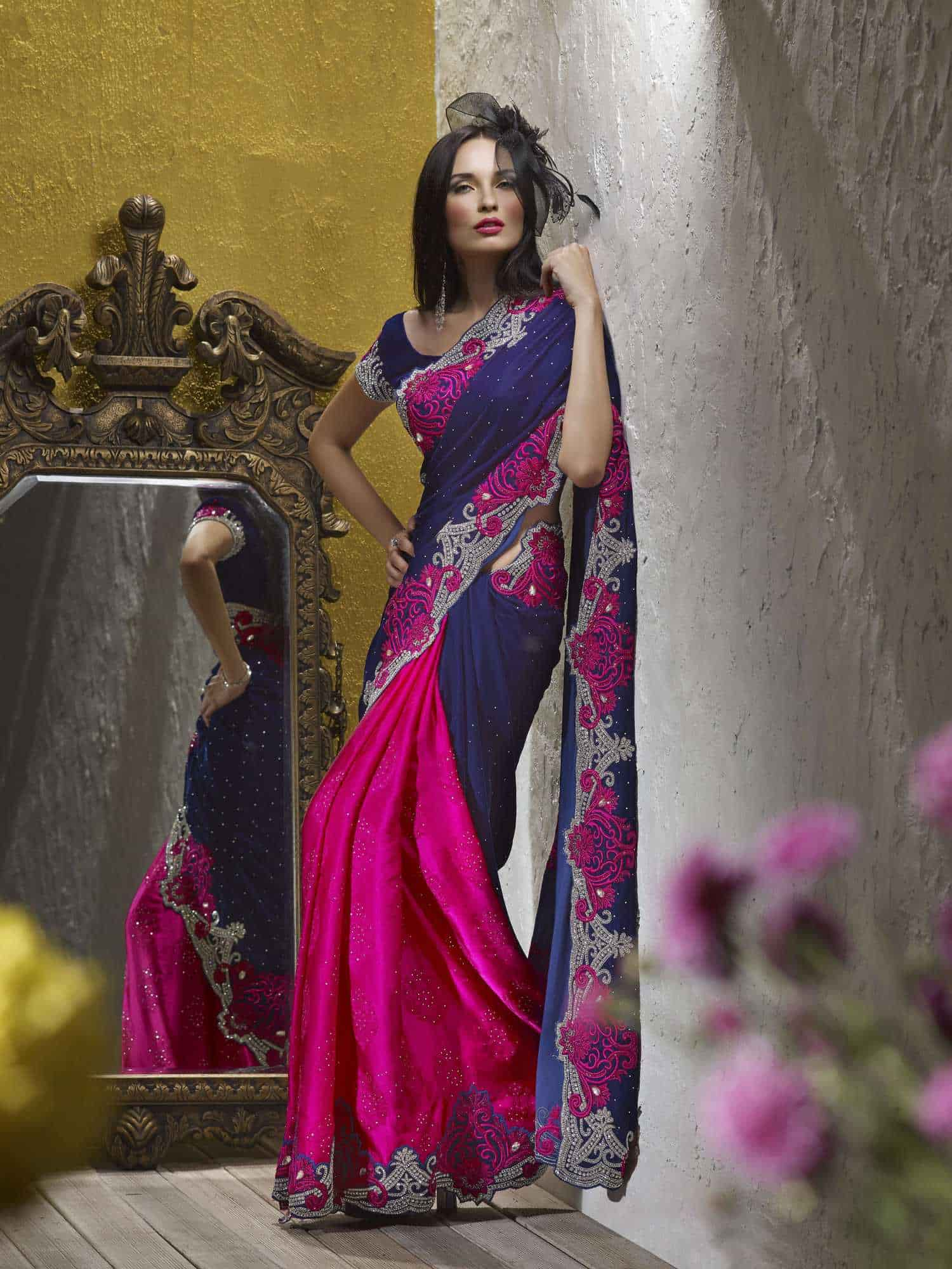 0dfa42a2ae74d Designer Saree - Samyakk Photos