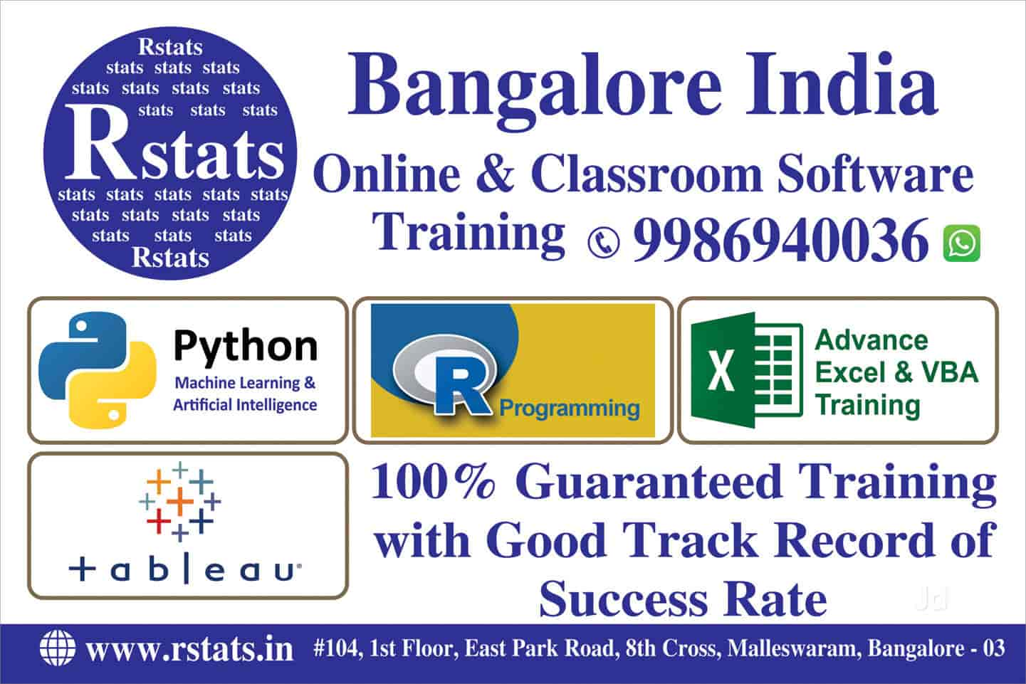 Rstats Bangalore India Malleswaram Circle Computer Training Institutes In Bangalore Justdial