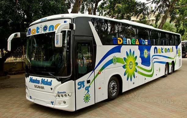 National Travels Majestic Bus Services In Bangalore