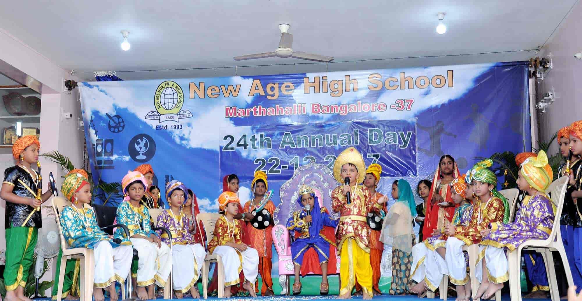 New Age Nursery Primary And High School Photos Marathahalli
