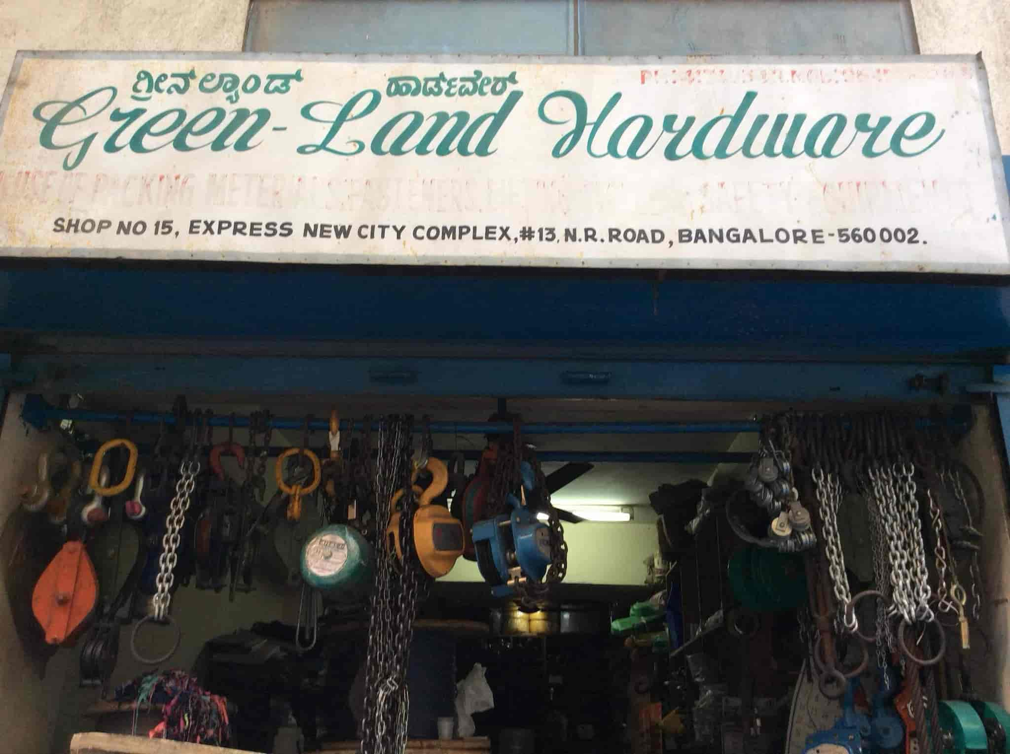 Green Land Hardware, NR Road - Chain Pulley Dealers in Bangalore