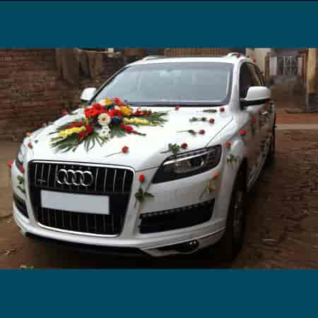 Wedding Car Decoration Photos, Wilson Garden, Bangalore- Pictures ...