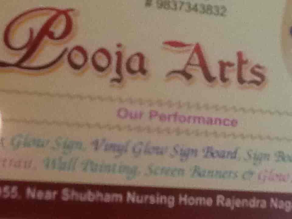 Pooja Arts, Rajendra Nagar - Advertising Agencies in
