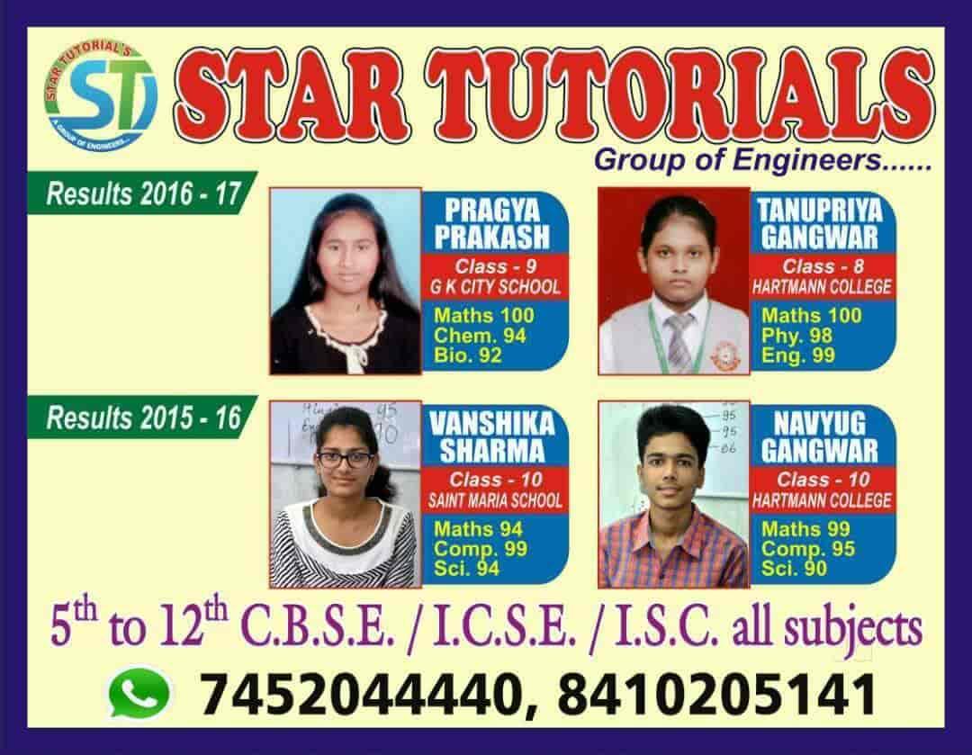 STAR TUTORIAL'S, Izatnagar UP - Educational Institutes in Bareilly