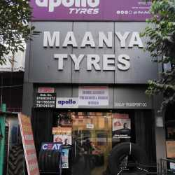 Maanya Tyre, Near Madhuban Talkies - Tyre Dealers-MRF in Bareilly